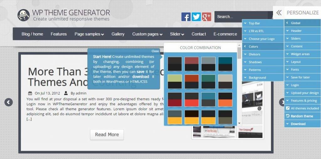 WpTheme Generator