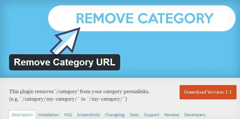 remove category