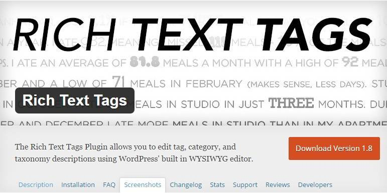 rich text tag