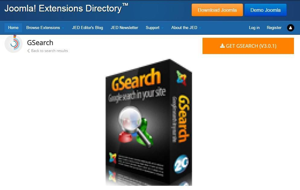 GSearch joomla