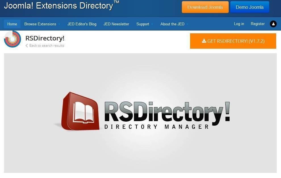 RSDirectory joomla