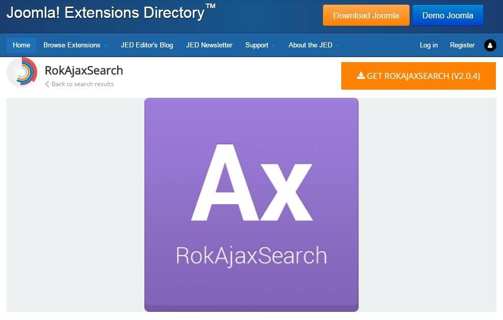Rokajaxsearch