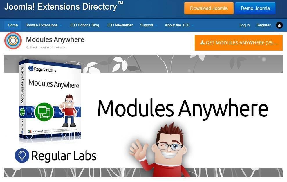 Modules Anywhere