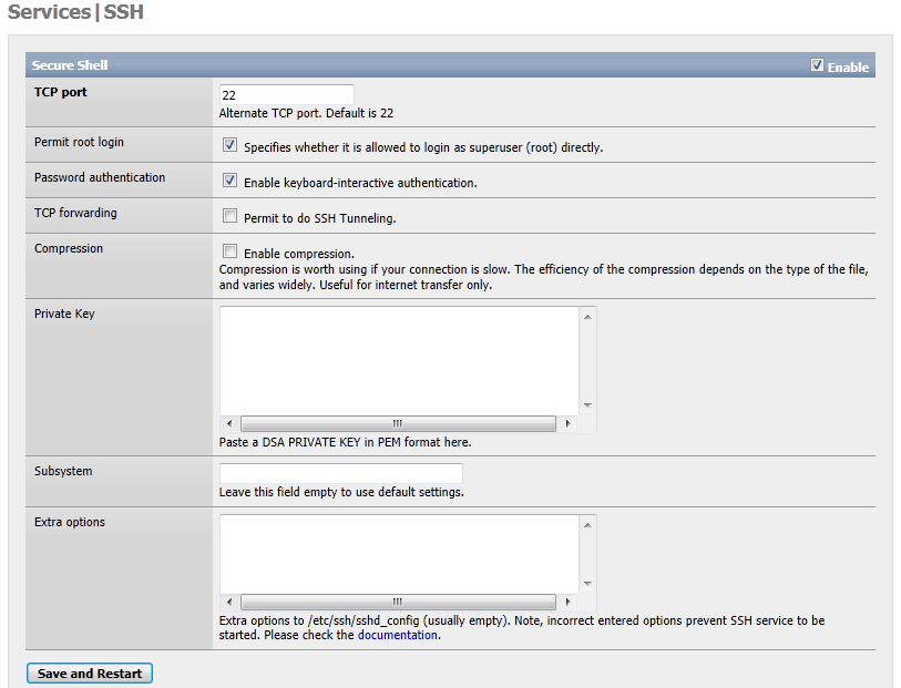 documentation_setup_and_user_guide_services.ssh